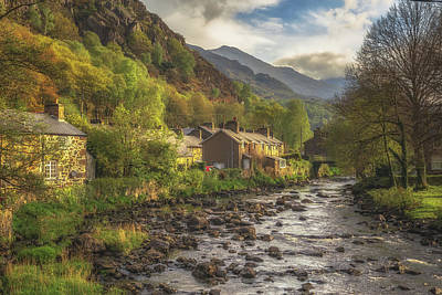 Snowdonia Photograph - Beddgelert by Chris Fletcher