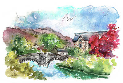 Painting - Beddgelert In Snowdonia 02 by Miki De Goodaboom