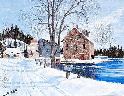 Bedford Mills Art Print