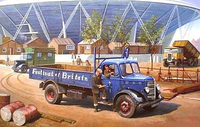 Bedford O Type 1950 Original by Mike  Jeffries
