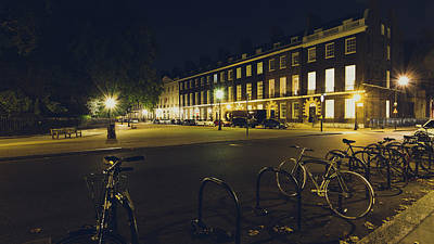 Photograph - Bedford Square London By Night B by Jacek Wojnarowski