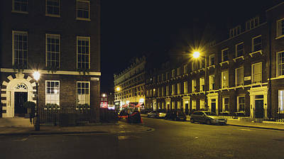 Photograph - Bedford Square London By Night C by Jacek Wojnarowski