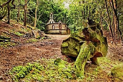 Impressionist Landscapes - Bedham Mission Chapel by Dave Godden
