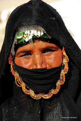 Photograph - Bedouin Women by Chaza Abou El Khair