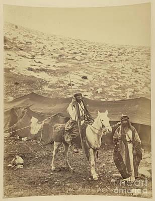 Bedouins De Moab Print by Celestial Images
