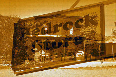Photograph - Bedrock Store Since 1881 by David Lee Thompson