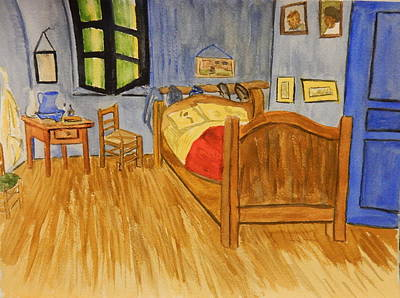 Painting - Bedroom After Van Gogh by Betty-Anne McDonald