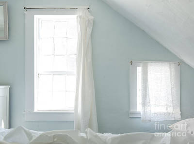 Bed Spread Photograph - Bedroom Blues by John Greim