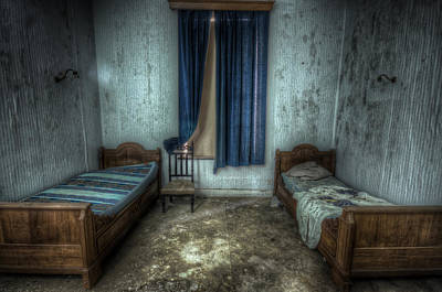 Old Home Place Digital Art - Bedroom For Two by Nathan Wright