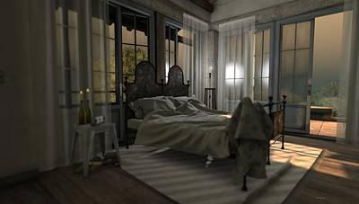 Photograph - Bedroom by Georgina Hannay