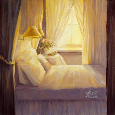Bedroom Light Art Print by Jane Weis