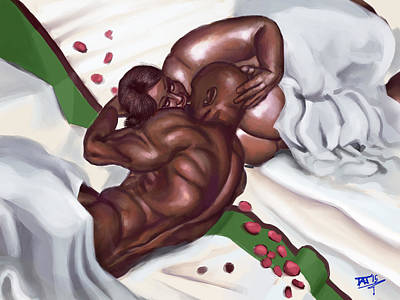 Digital Art - Bedroom Love by David James