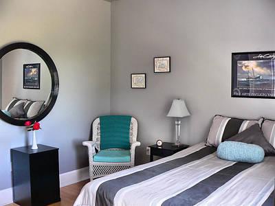 Photograph - Bedroom Reading Corner by Kathy K McClellan
