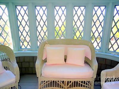 Digital Art - Bedroom Sitting Alcove by Ed Weidman