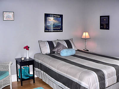 Photograph - Bedroom Two Bed by Kathy K McClellan