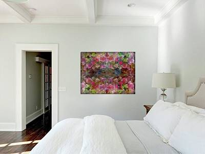 Photograph - Bedroom With Sweet Pink Dreams by Dorothy Berry-Lound
