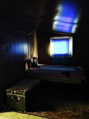 Photograph - Bedroom With Trunk by Brian Sereda