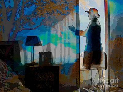 Digital Art - Bedrooms Woman by Algirdas Lukas