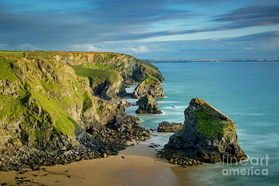 Photograph - Bedruthan Evening by Brian Jannsen