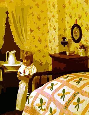 Digital Art - Bedtime by Bob Shimer