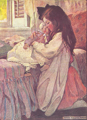 Painting - Bedtime by Jessie Wilcox Smith