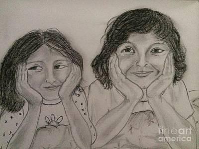 Painting - Bedtime Stories by Brindha Naveen