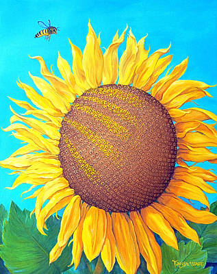 Painting - Bee-autiful by Tanja Ware