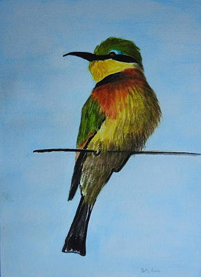 Painting - Bee Eater by Betty-Anne McDonald