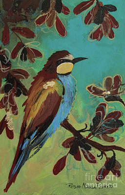 Painting - Bee Eater by Robin Maria Pedrero
