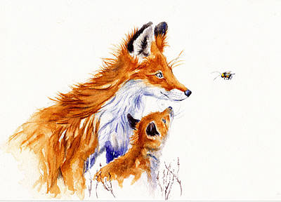 Painting - Bee Educated by Debra Hall