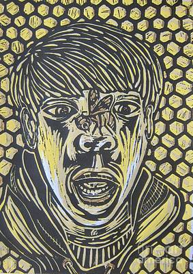 Bee Fear Art Print by Susan Parsley