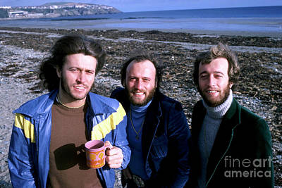 Photograph - Bee Gees 1976 by Chris Walter