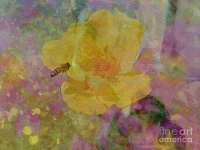 Photograph - Bee Good Or Bee Careful by Kathie Chicoine