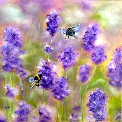 Painting - Bee Happy by Dr Pat Gehr