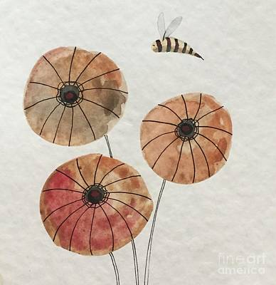 Painting - Bee Happy by Tonya Henderson