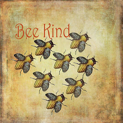 Painting - Bee Kind by Kandy Hurley