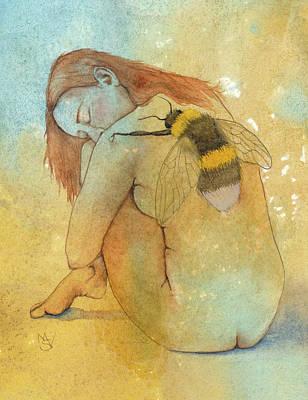 Painting - Bee Loved by Marie Stone Van Vuuren