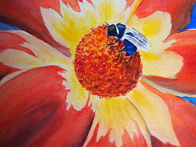 Painting - Bee by Rod Stewart