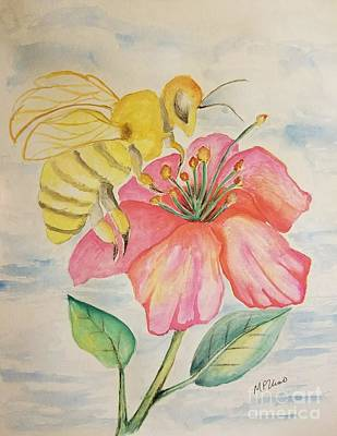 Painting - Bee Sweet by Maria Urso