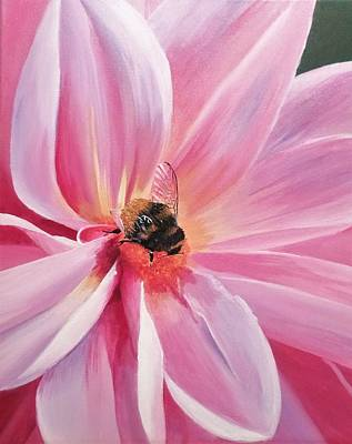 Painting - Bee-utiful by Anne Gardner