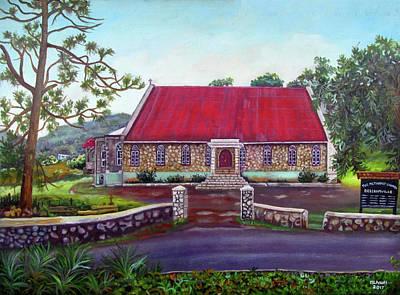 Painting - Beechamvill Methodist Church by Ewan McAnuff