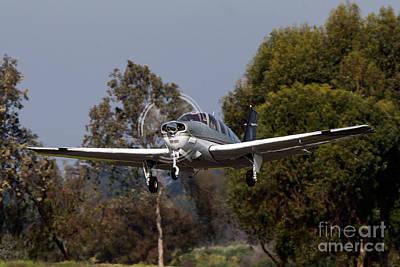 Beechcraft Bonanza Photograph - Beechcraft Bonanza G36 N360fv by Jason O Watson
