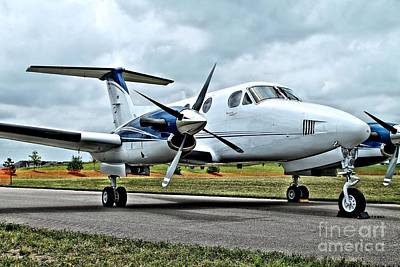Beechcraft Kingair 2 Art Print