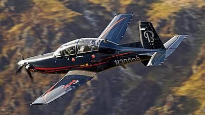 Airplane Digital Art - Beechcraft T-6 Texan II by Super Lovely