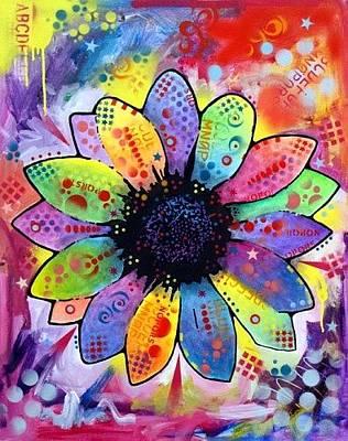 Petals Art Mixed Media - Beechwood by Dean Russo