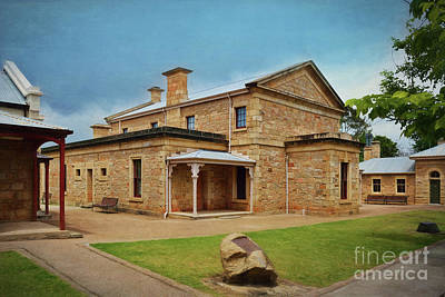 Photograph - Beechworth Courthouse by Stuart Row