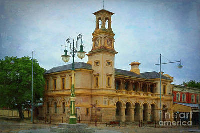 Photograph - Beechworth Post Office by Stuart Row