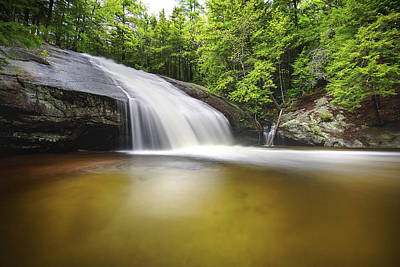 Photograph - Beede Falls 2017 by Robert Clifford