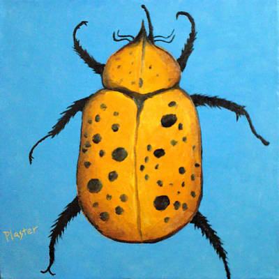 Painting - Beedles - John by Scott Plaster