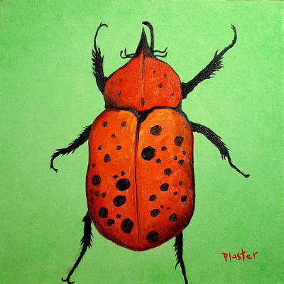 Painting - Beedles - Paul by Scott Plaster